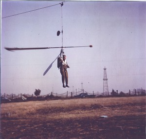 MEG-1X Portable Helicopter